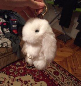 Брелок кролик зайка