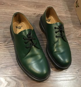 Dr.martens green smooth 1461pw