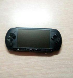 PSP + 4 лицензионных диска