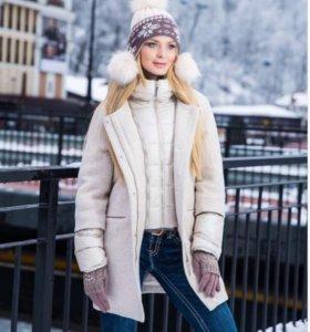 Новая куртка пальто 2 в 1