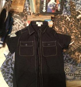 Рубашка для мальчика рост 128-134