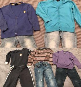 Одежда для мальчика 3-4 года