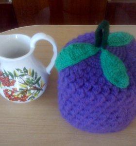 Грелка на заварочный чайник-ягода