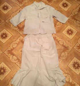 Костюм (юбка и рубашка)