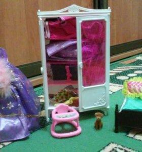 Детская мебель и одежда для барби