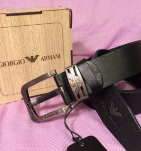 Ремень Armani Натуральная кожа