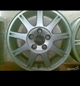 Диски литые родные форд