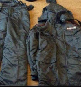 Ватные штаны полиция Зима