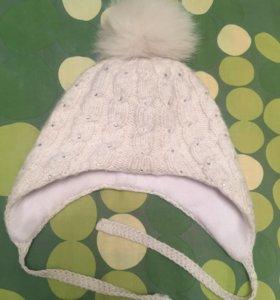 Зимние шапки ручной работы 50-52 размер