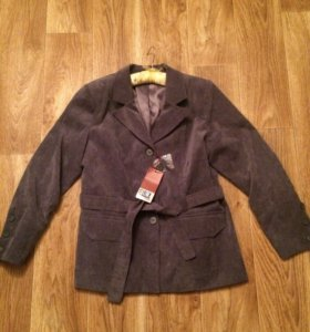 Новый вельветовый пиджак