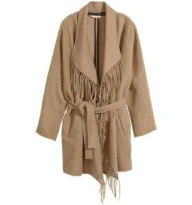 Шерстяное Пальто Н&М