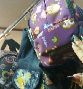 Рюкзаки, сумка