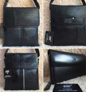 Мужские сумки планшет кожа
