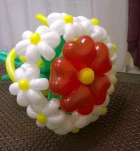 Оригинальный букет из шариков