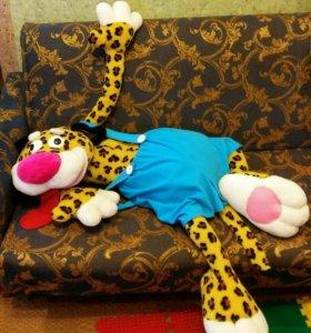 Большая мягкая игрушка Леопард.