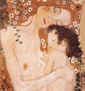 """Картина по номерам """"Мать и дитя"""""""