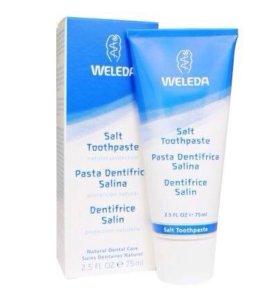 Солевая зубная паста Weleda
