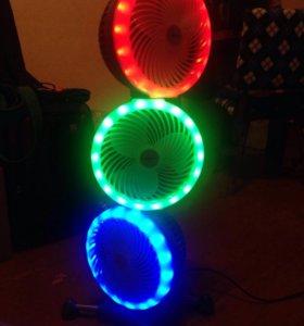 Напольный вентилятор Polaris PTF 3HL Neon
