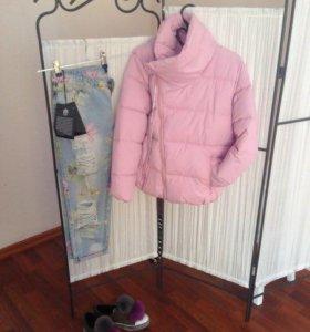 Куртка, джинсы, обувь