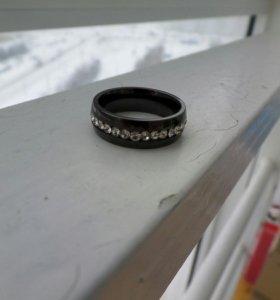 Кольцо керамическое черное