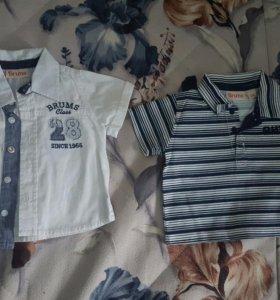 56-68см. Рубашки и футболки