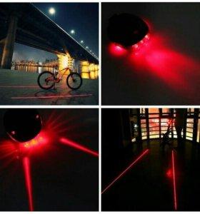 Лазерный велосипедный фонарь