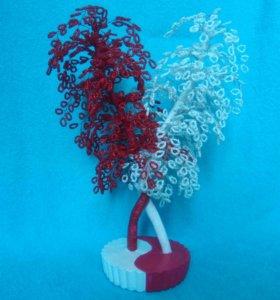 Инь-Янь( дерево любви).