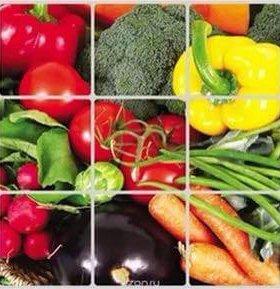"""Кухонный экран """"Овощи"""" новый"""