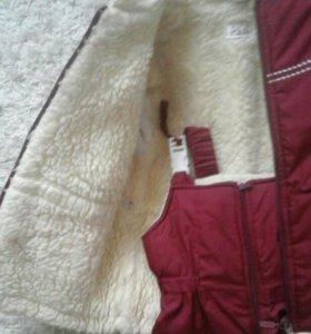 Зимний болоневый костюм