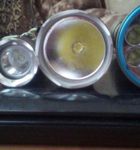 Сощные светодиодные фонари дляподводного плавантя