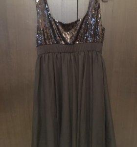 Платье и болеро р-и 46-48