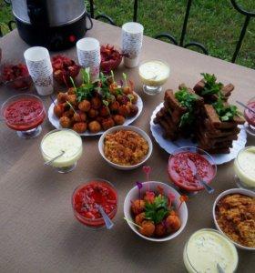 Приготовление домашних праздничных ужинов