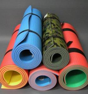 Красивые и удобные коврики для йоги и фитнеса