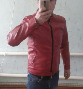 Куртка мото.