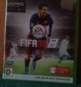 FIFA16 лицензия на Xbox 360.