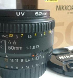 Nikon AF Nikkor 50mm f/1,8D