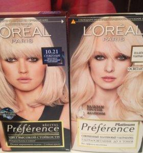 Новая краска L'Oréal preference