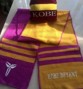 Набор шапка, шарф новый