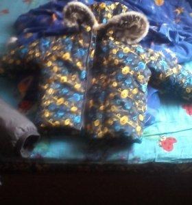 Детский осенний весенний костюм