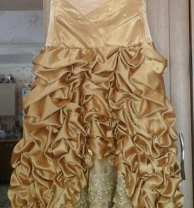 Платье для девочки на выпускной в детском саду