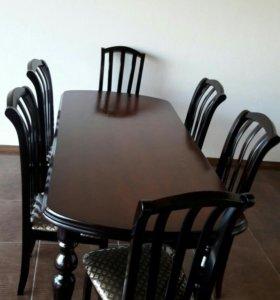 Комплект стола и стульев