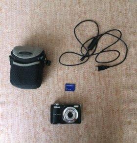 Цифровой фотоаппарат Nikon coolpix L22