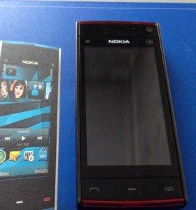 Телефон Nokia x6-00 16 gb