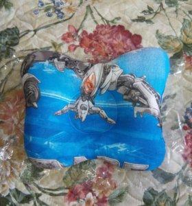 Детская подушка-бабочка (новая)