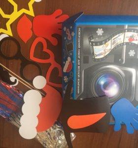 Новогодний набор для фотографий