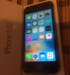 iPhone 5s 16gb Gray📱