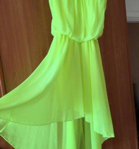 Платье летнее, выходило 1 раз