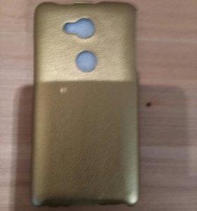 Чехол для Huawey Honor 5x золотистый новый
