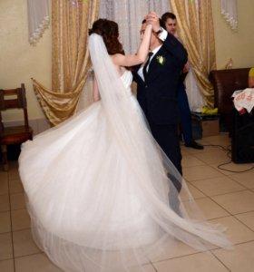 Свадебное платье +ПОДАРОК(скидка на декор!)