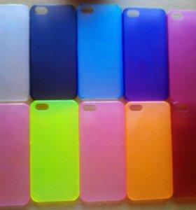 Чехол пластиковый на айфон 5